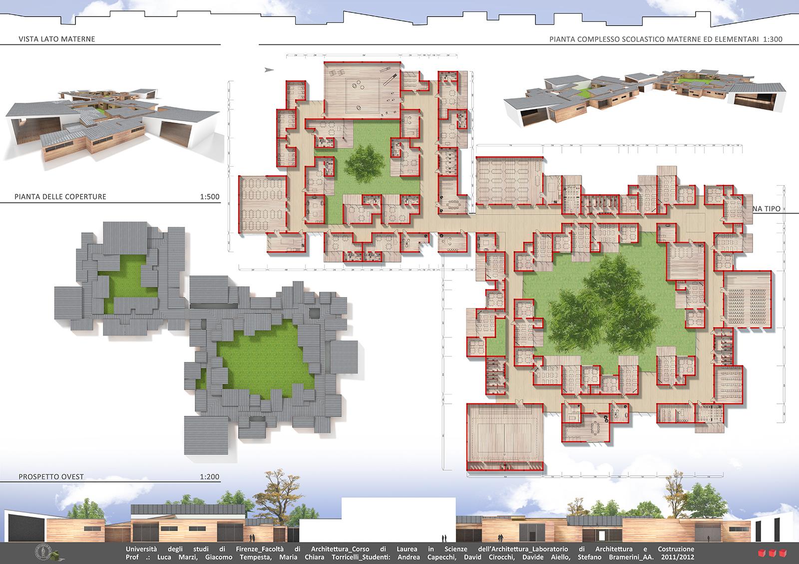 Amato Progetto modulare per una scuola elementare e materna | Davide  UK06